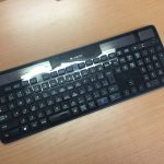 Logicool WIRELESS SOLAR KEYBOARD K750R 雑感